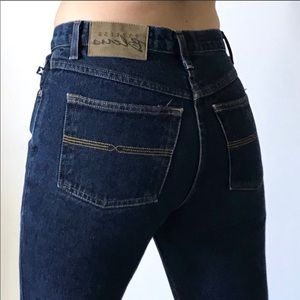 Express Bleus dark jeans high waist sz 5/6 L